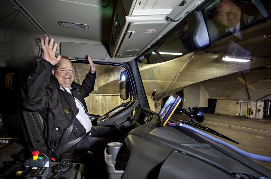 160525-AB Volvo Gothenburg Autonom truck FM X. Picture: Marie Ullnert, Bilduppdraget