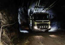 Volvo testează un camion autonom într-o mină subterană, pe o distanţă de 7 kilometri