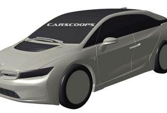 BMW i5 îşi face apariţia într-o serie de randări dintr-un brevet japonez, e cam masiv