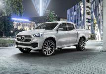 Mercedes-Benz și Nissan se aliază pentru a crea camioneta X-Class, un concept prezentat în Suedia