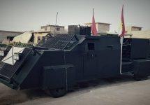 Forțele din Kurdistan se pregătesc să înfrunte teroriștii cu ajutorul unor vehicule armate în stil Mad Max