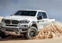 O nouă randare cu conceptul de camionetă BMW bazat pe modelul X5