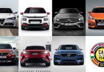 Iată cele 7 automobile finaliste pentru titlul Mașina Anului 2017 în Europa