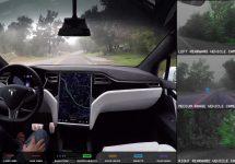 Iată cum funcționează sistemul de pilot automat de pe Tesla Model X și ce vede șoferul în tot acest timp