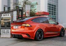 Unplugged Performance aduce vehiculele electrice la show-ul auto SEMA; Tesla Model X primește primul tratament din partea companiei de tunning