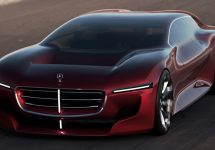 Aceasta limuzină Mercedes-Benz cu design futurist foloseşte fluxul de aer în favoarea sa