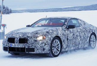 Noul BMW Seria 6 coupe apare în fotografii spion, pe zăpadă
