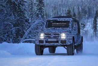 Noul Mercedes-Benz G500 Squared apare în fotografii spion; model 4×4² ce ar putea fi dezvăluit la sfârșitul anului