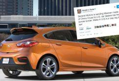 Donald Trump ameninţă General Motors cu sancţiuni legate de modelele produse în Mexic