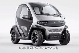Eli ZERO este un automobil electric de oraș ce vine din partea unui startup; va fi prezentat la CES 2017