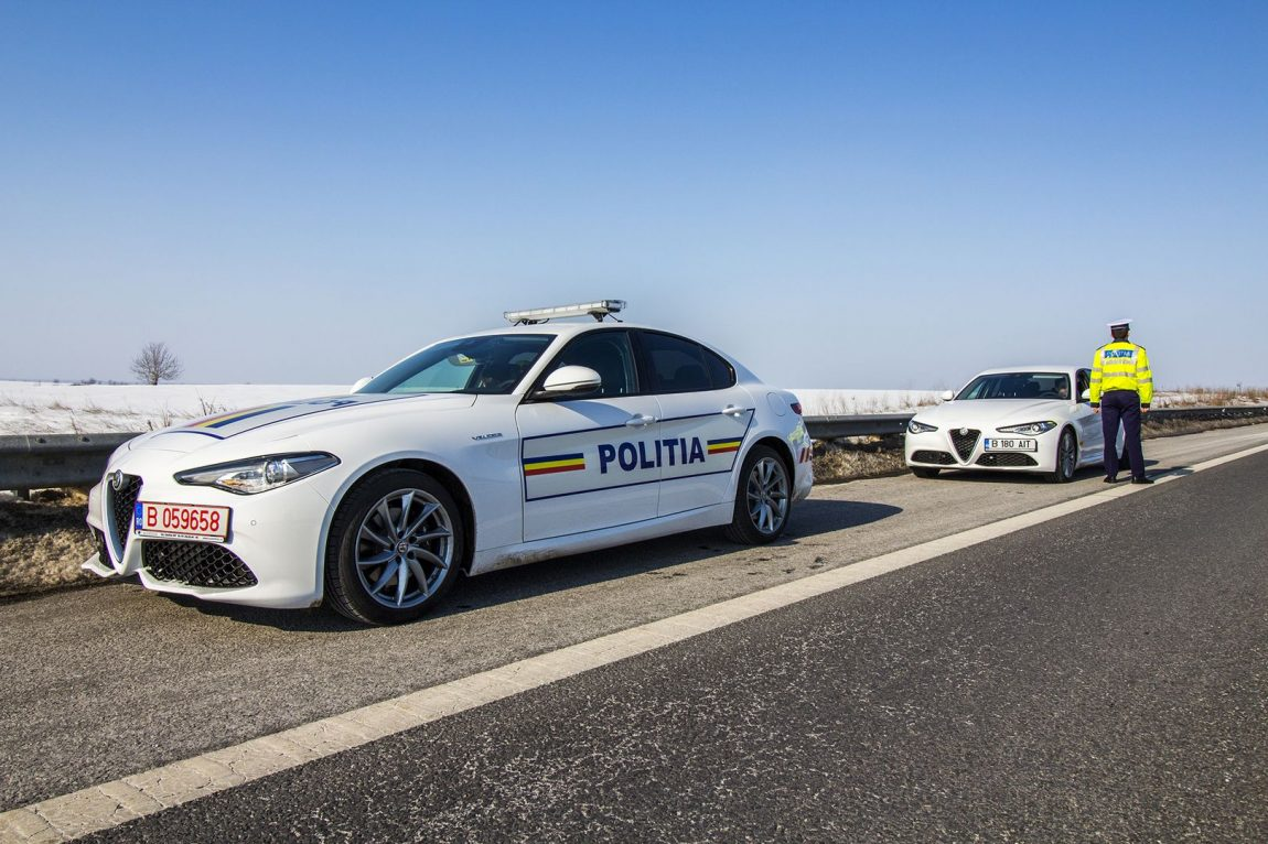 Alfa Romeo Giulia Veloce Politia Rutiera Ilfov – Fotografii