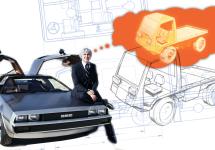 DeLorean lucra la un moment dat la un vehicul offroad trăznit şi compact