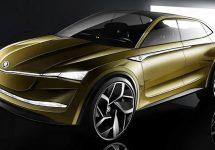 Skoda Vision E Concept va debuta la Salonul Auto de la Shanghai luna viitoare, într-o versiune autonomă