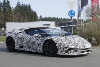 Lamborghini Huracan varianta decapotabilă îşi face apariţia în primele imagini