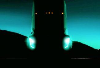 Elon Musk oferă un teaser pentru primul camion electric Tesla