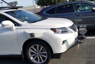 Automobilul autonom de test Apple apare în fotografii, e un Lexus încărcat cu senzori self driving