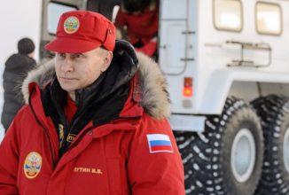 Vladimir Putin explorează zona arctică într-un vehicul rusesc 6X6 demn de un inamic al lui James Bond (Video)