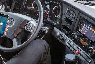 Mercedes-Benz oferă de acum suport Apple CarPlay și pentru camioane; modelele Actros, Antos și Arocs sunt pe listă