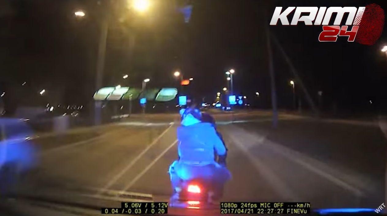 politia loveste motociclist estonia
