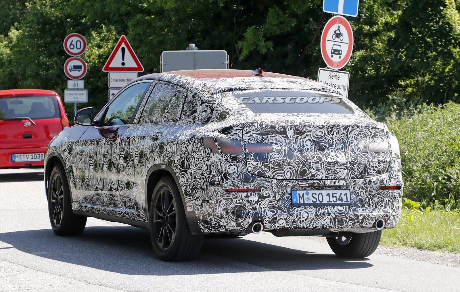 BMW X4 2018 fotografii spion (5)