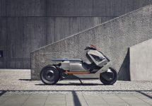 BMW Motorrad Concept Link este o motocicletă electrică urbană şi futuristă, prezentată la Concorso d'Eleganza 2017