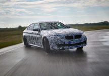 BMW M5 2018 fotografiat şi filmat în acţiune în Germania, apare pe coperta noului NFS