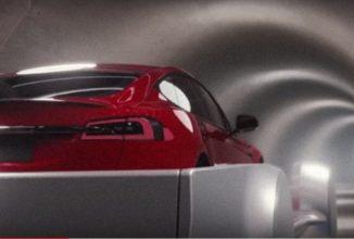 Elon Musk testează liftul ce va duce automobile în tunelurile subterane menite pentru transport