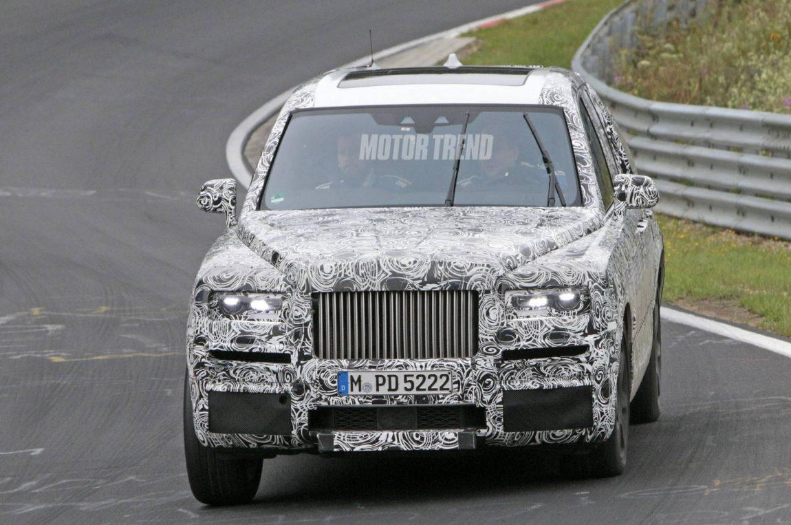 Rolls-Royce Cullinan – Fotografii spion