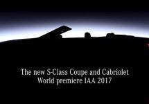 Mercedes-Benz S-Class în varianta cabrio primește un teaser video înaintea lansării de la Salonul Auto din Frankfurt!