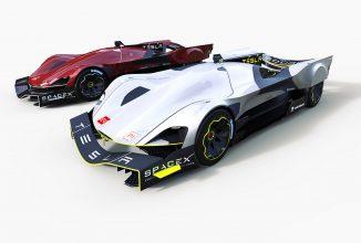 Așa ar putea arăta bolidul Tesla dacă firma americană decide să participe la cursa Le Mans din 2030