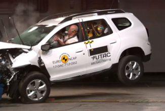 Dacia Duster 2018 nu impresionează la testele Euro NCAP; bifează doar 3 stele la capitolul siguranță