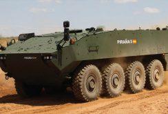 Ministerul Apărării cumpără 227 de transportoare blindate Piranha 5 de la Iveco