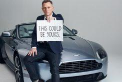 Maşina Aston Martin Vanquish a lui Daniel Craig scoasă la licitaţie, în scop caritabil